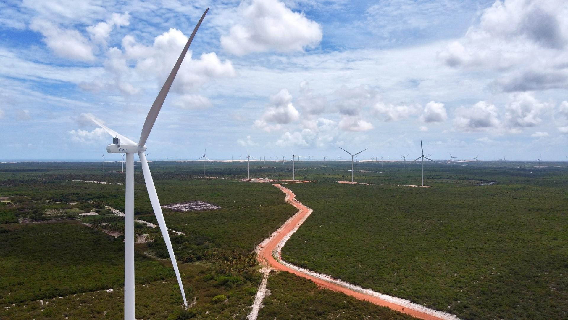 Grupo francês tem atuação no Ceará em parques eólicos em terra