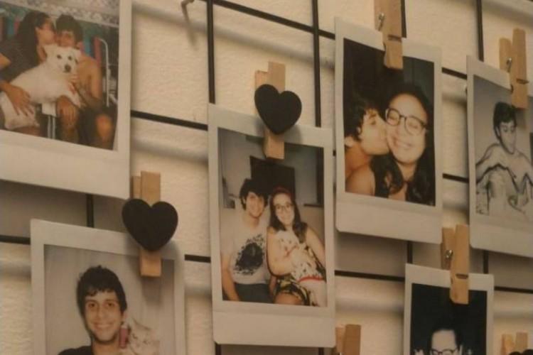 Davi Simonetti e Thalia Sombra se conheceram no ano passado pelo Tinder (Foto: Arquivo Pessoal)