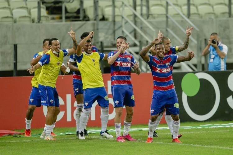 O Fortaleza será um dos clubes que representarão o Nordeste nas oitavas de final da Copa do Brasil (Foto: Aurélio Alves/O POVO)