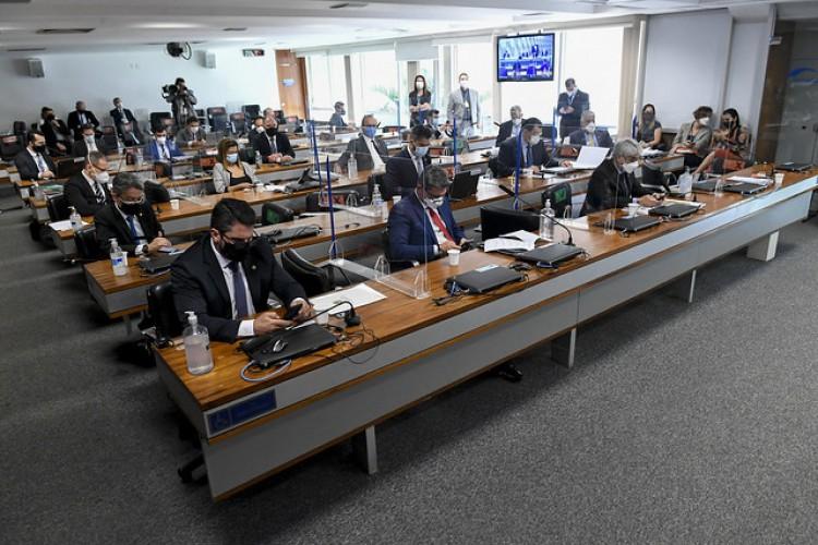 CPI da Covid aprovou série de quebra de sigilos  (Foto: Edilson Rodrigues/Agência Senad)