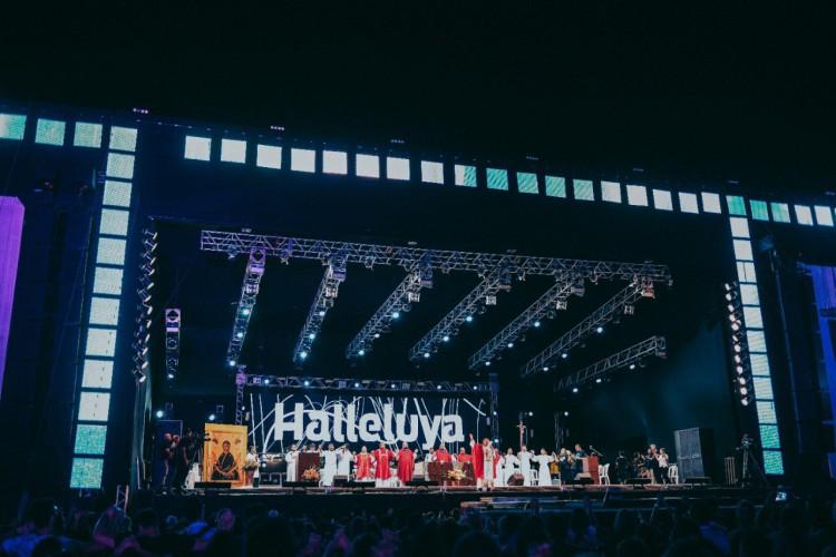 Festival Halleluya 2021 irá ocorrer no formato online e contará com uma arena virtual. Evento ocorre nos dias 23 a 25 de julho (Foto: Divulgação)