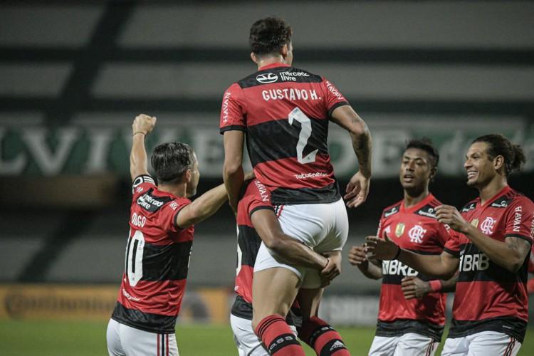 Flamengo recebe o Coritiba hoje, em jogo de volta pela Copa do Brasil; veja onde assistir ao vivo à transmissão, provável escalação e horário (Foto: Alexandre Vidal/ Flamengo)