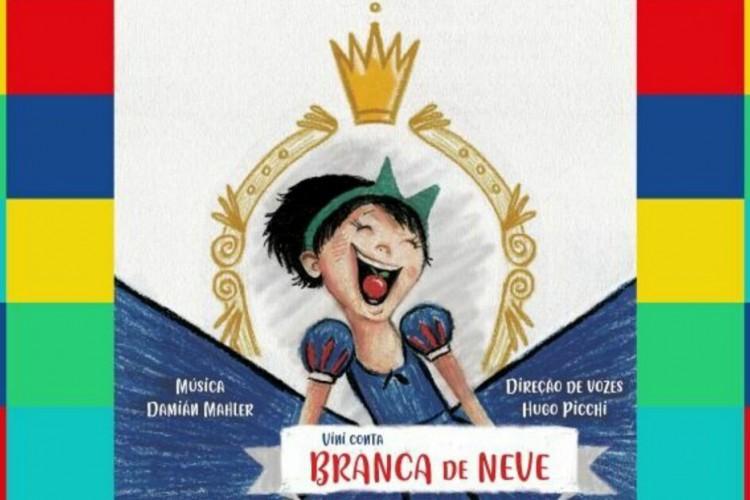 Vinicius Campos lança versão atual e feminista de Branca de Neve (Foto: Reprodução/Catarse)