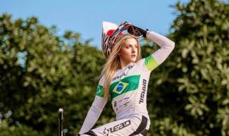 Priscilla Stevaux, do ciclismo BMX, garante vaga na Olimpíada de Tóquio