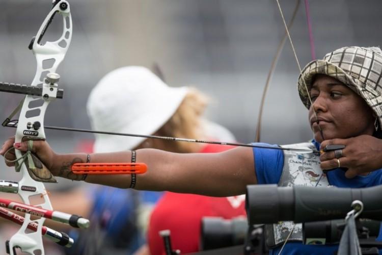 Ane Marcelle dos Santos defende o Brasil na Olimpíada de Tóquio (Foto: Divulgação / COB)