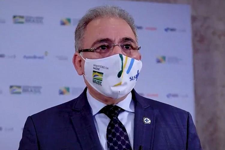 O Brasil tem grande espaço para investimento em saúde. Durante o Fórum de Investimentos Brasil 2021, o ministro Marcelo Queiroga apresentou algumas oportunidades na saúde pública e suplementar. (Foto: Ministério da Saúde)