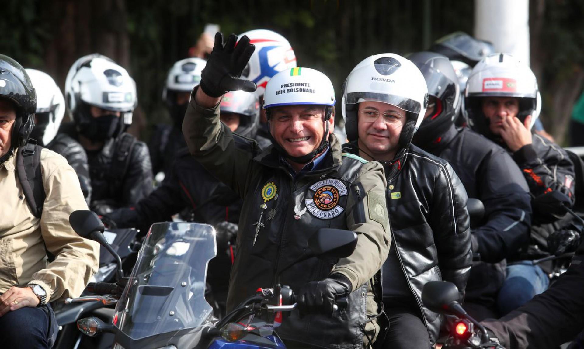 Bolsonaro reforça na nota que conduz o Brasil. Percebe-se (Foto: AGÊNCIA BRASIL)