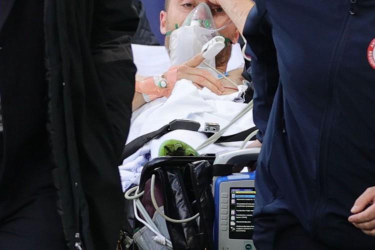 Eurocopa: jogador dinamarquês Eriksen sofre mal súbito em campo (Foto: )