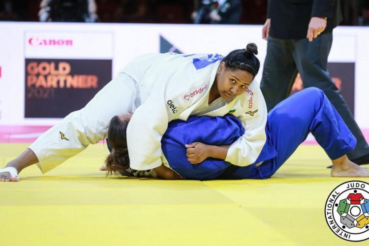 Mundial de Judô: Brasil confirma duas medalhas no peso pesado feminino (Foto: )