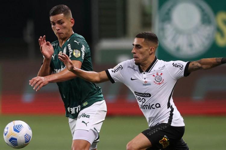 Palmeiras e Corinthians ficam no empate pelo Brasileirão (Foto: Cesar Greco)