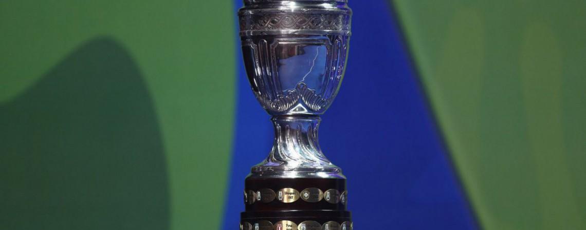 Copa América está sendo realizada no Brasil, nas seguintes sedes: Mato Grosso, Rio de Janeiro, Goiás e Distrito Federal (Foto: Lucas Figueiredo/CBF)