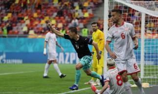 Áustria venceu a Macedônia do Norte por 3 a 1 na estreia pela Eurocopa