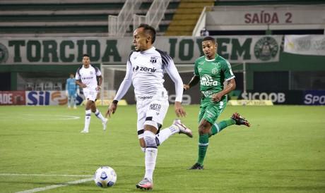 Bruno Pacheco será titular do Ceará no jogo de hoje diante do Chapecoense pelo Campeonato Brasileiro