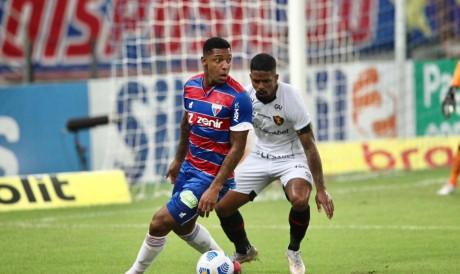 Fortaleza e Sport se enfrentam em busca de dar fim ao jogos sem vitórias na Série A
