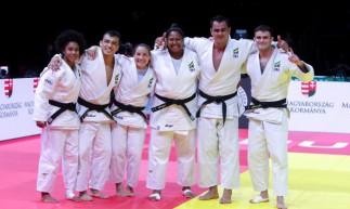 Brasil termina em terceiro por equipes mistas no Mundial de Judô