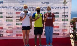Ana Marcela Cunha conquistou Campeonato Italiano de Águas Abertas