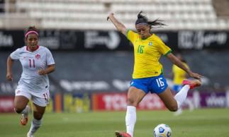 Seleção feminina empata com Canadá no último amistoso antes de Tóquio