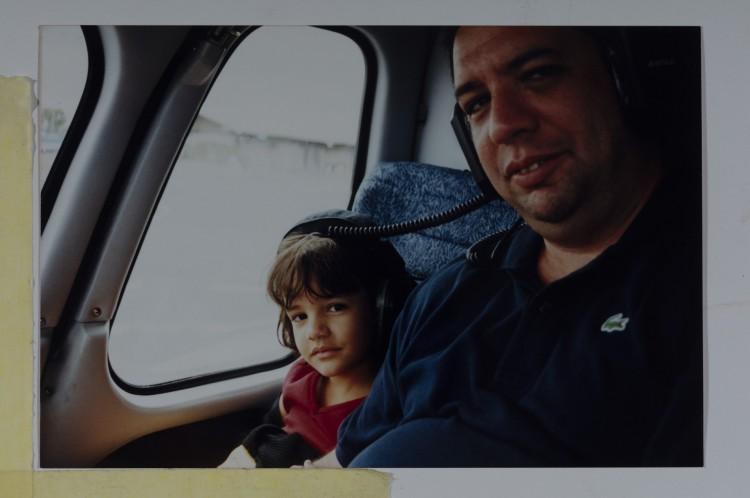 Bussunda com a filha Júlia Besserman
