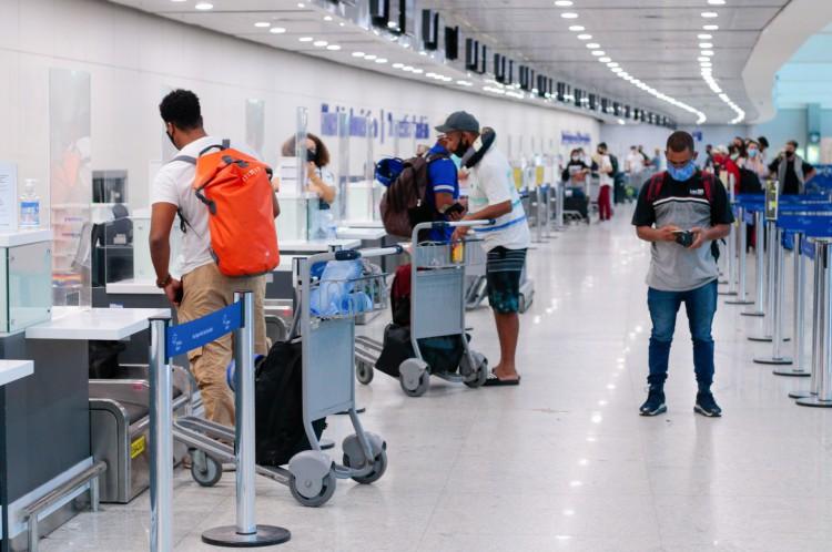 Fraport, administradora do Aeroporto Internacional de Fortaleza (CE), diz que retomada vai depender do andamento da pandemia(Foto: Barbara Moira)