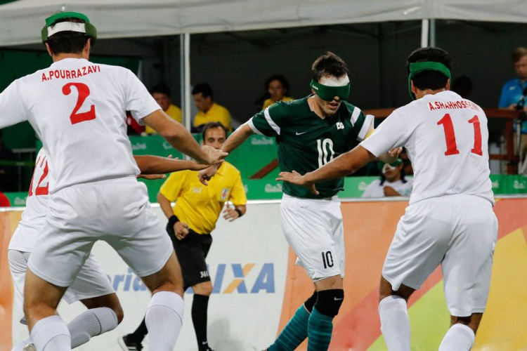 Futebol de 5: Brasil inicia luta pelo penta paralímpico contra Japão (Foto: Alaor Filho)