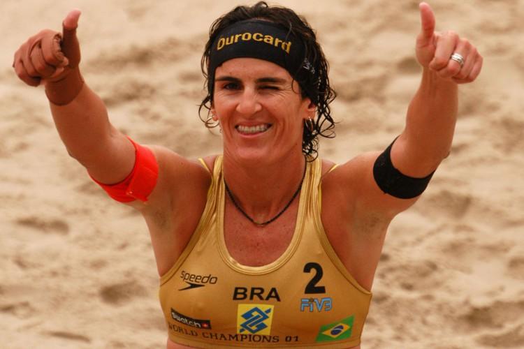 Shelda teve uma das carreiras mais vitoriosas do vôlei de praia mundial (Foto: Silvio Ávila/Divulgaçao)