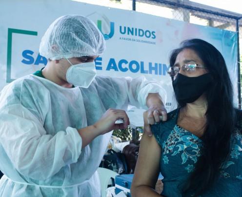 151 municípios cearenses iniciaram vacinação da população geral contra a Covid-19