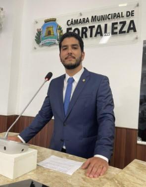 Pedro França é vereador de Fortaleza (Foto: DIVULGAÇÃO)