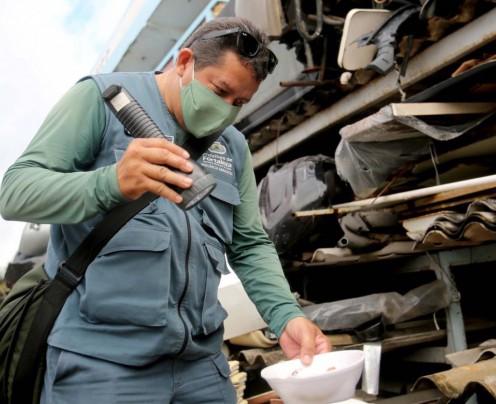 Nove bairros de Fortaleza concentram 37% dos casos confirmados de dengue em 2021