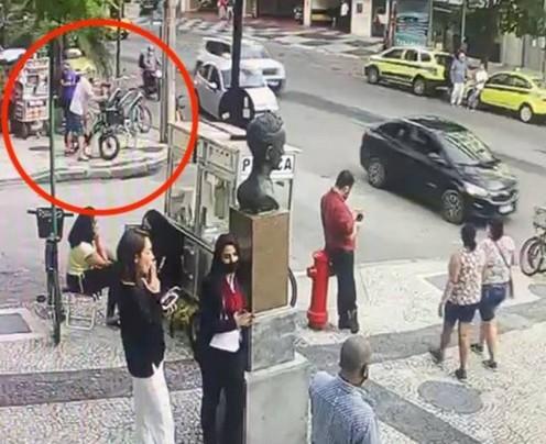 Homem branco é preso suspeito de furtar bicicleta de casal que acusou jovem negro