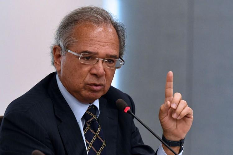 Brasília, DF, 14ª Reunião do Conselho do Programa de Parcerias de Investimentos (CPPI), no Ministério da Economia, bloco K..NA FOTO: Ministro da Economia, Paulo Guedes FOTO: EDU ANDRADE/Ascom/ME (Foto: EDU ANDRADE/Ascom/ME)