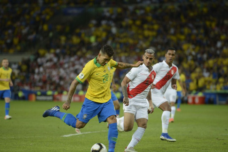 Brasil e Peru disputam a final da Copa América 2019, no Maracanã. (Foto: Fernando Frazão/Agência Brasil)