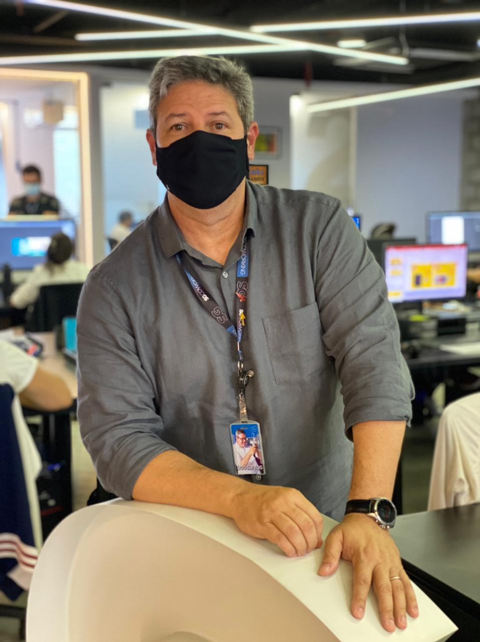 Bob Santos, diretor da agência SG Propag