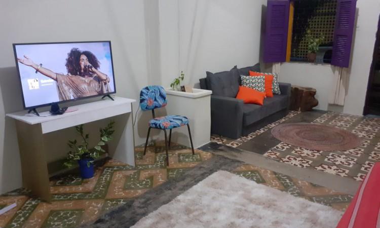 A Outra Casa Coletiva fica localizada no bairro Benfica