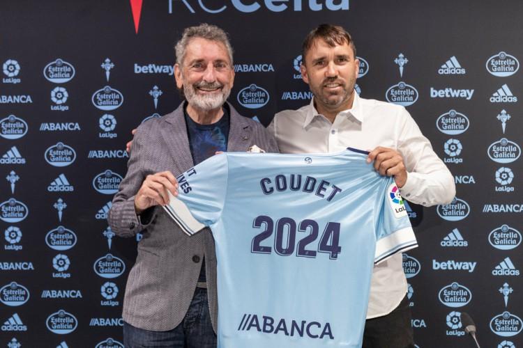 Eduardo Coudet renova com o Celta até 2024 (Foto: Divulgação / Celta de Vigo)