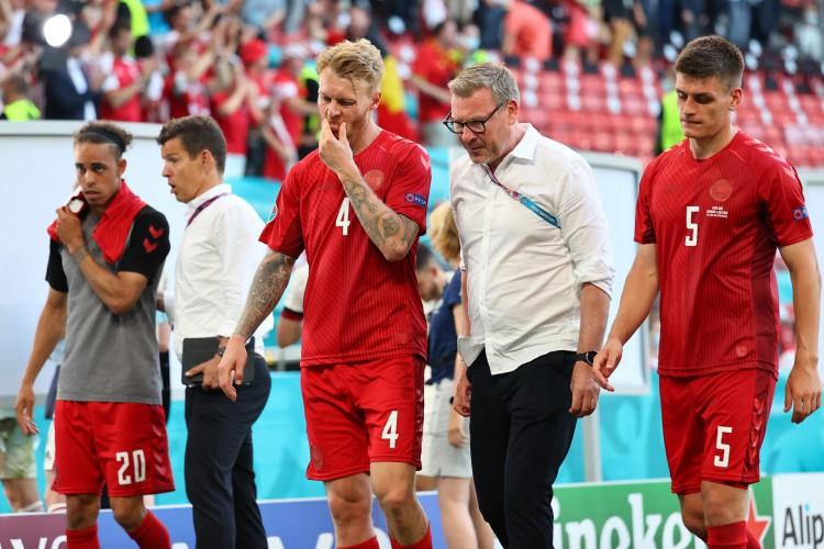 Dinamarca de Kjaer enfrenta hoje a Rússia; veja onde assistir ao vivo à transmissão e qual horário do jogo (Foto: WOLFGANG RATTAY / AFP)