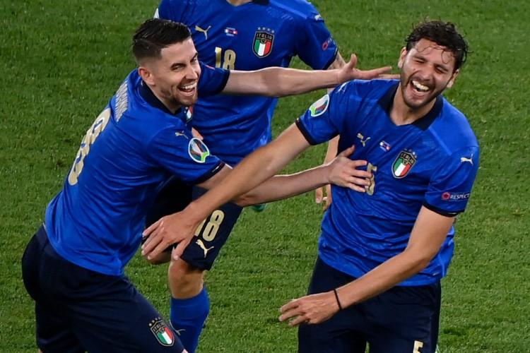 Itália recebe a País de Gales hoje, pela Eurocopa 2021; veja onde assistir ao vivo à transmissão e horário do jogo (Foto: Riccardo Antimiani / AFP)
