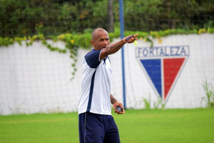 Rinaldo, ex-atacante do Fortaleza, será o novo técnico do sub-15 do Leão (Foto: Thais Pontes/Fortaleza EC)