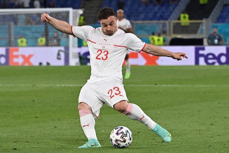 Suíça de Shaqiri enfrenta hoje a Turquia; veja onde assistir ao vivo à transmissão e qual horário do jogo (Foto: ANDREAS SOLARO / AFP)
