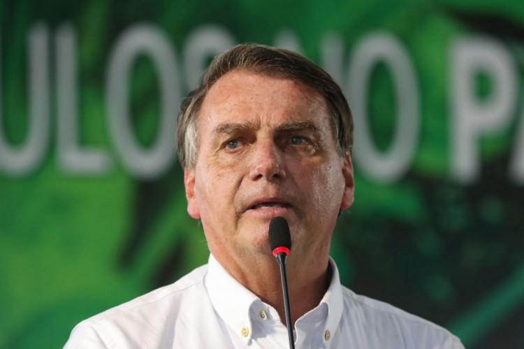 """Vamos resolver isso em 2022"", disse Bolsonaro durante transmissão semanal (Foto: Isac Nóbrega/PR)"