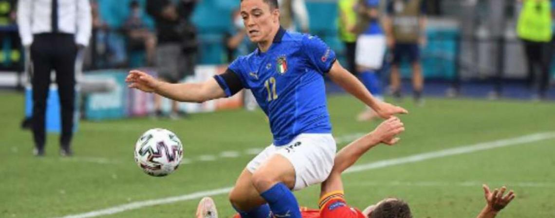 Itália e Áustria se enfrentam hoje pela Eurocopa 2021; veja onde assistir ao vivo à transmissão e horário (Foto: Alberto Lingria/AFP)