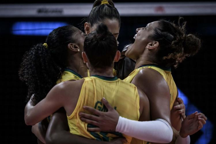 Liga das Nações: Brasil termina 1ª fase com vitória e enfrenta Japão (Foto: )