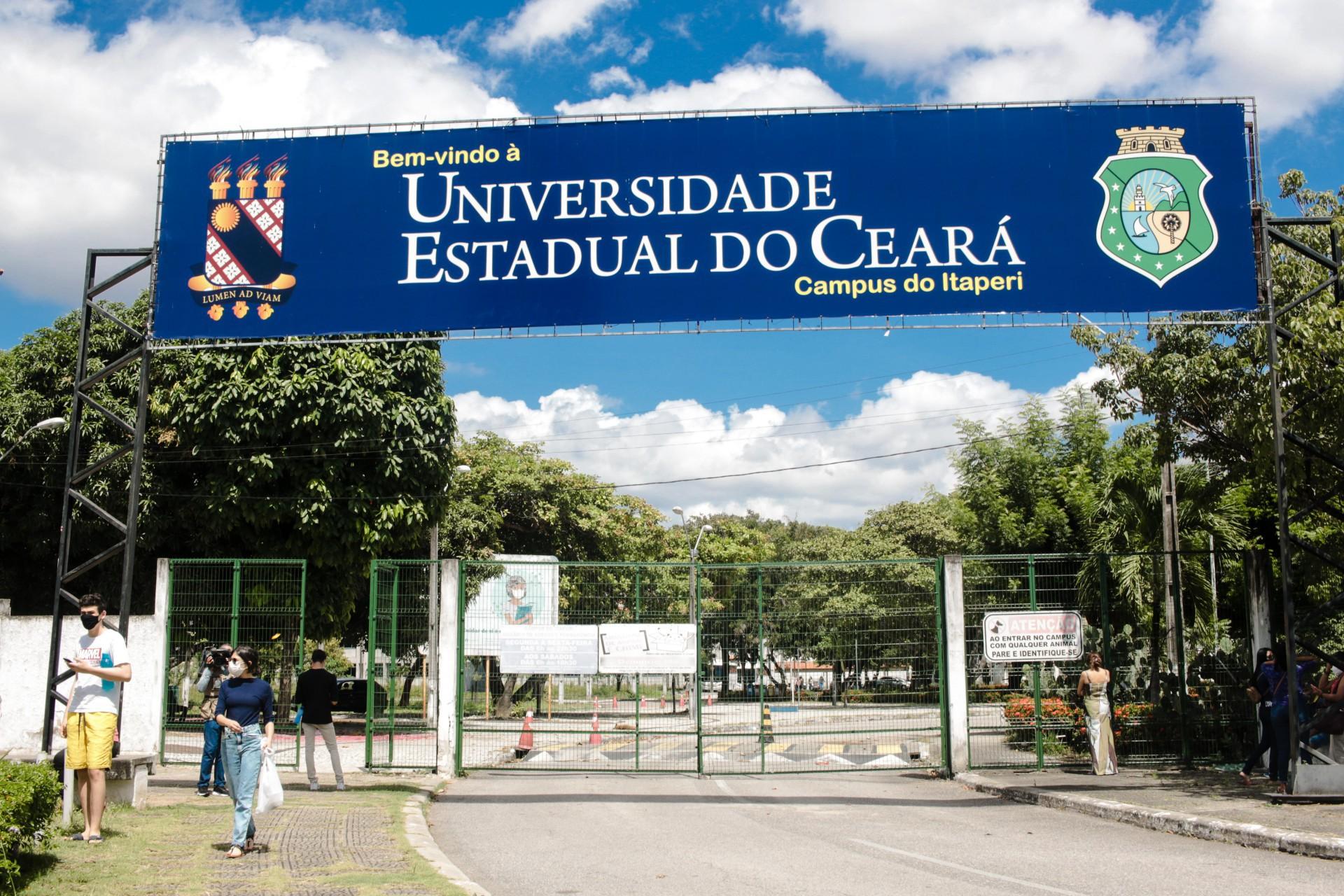 Campus do Itaperi da Uece: universidade definirá como será o retorno presencial