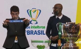 Jogo entre Fortaleza e CRB foi o quarto sorteado e será o único jogo entre times do Nordeste nas oitavas de final do torneio