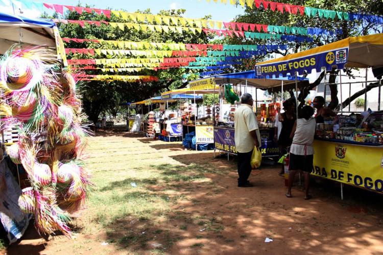 A feira acontece tradicionalmente no período junino há cerca de 50 anos na cidade (Foto: Semasp/Juazeiro)