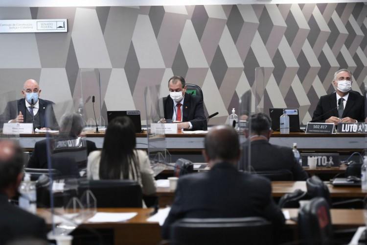 Comissão Parlamentar de Inquérito da Pandemia (CPIPANDEMIA) realiza oitiva do ex-ministro da Cidadania, apontado como integrante do  (Foto: Edilson Rodrigues)