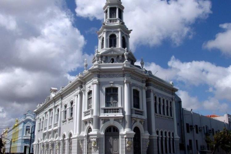 Fachada do prédio da Sefaz no Ceará (Foto: Valmir Júnior/Governo do Ceará)
