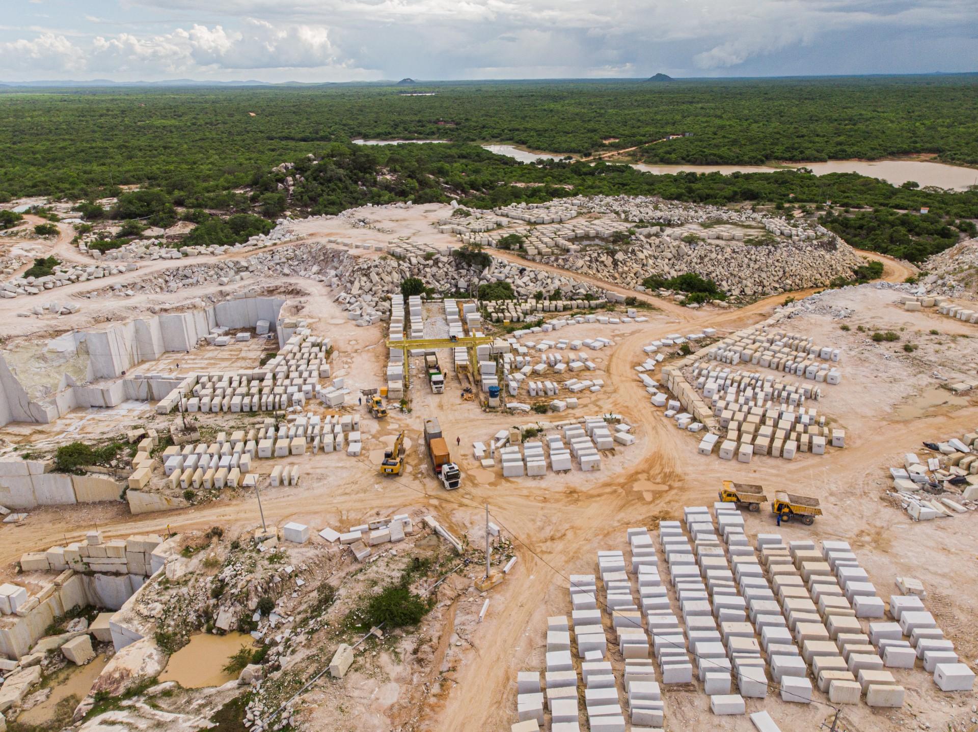 Santa Quitéria é um dos municípios com maior potencial em mineração no Ceará (Foto: Arquivo Ceará Stone/Divulgação)