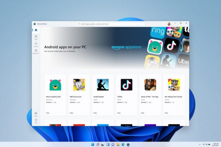 Loja de programas Microsoft Store terá suporte a aplicativos Android no Windows 11