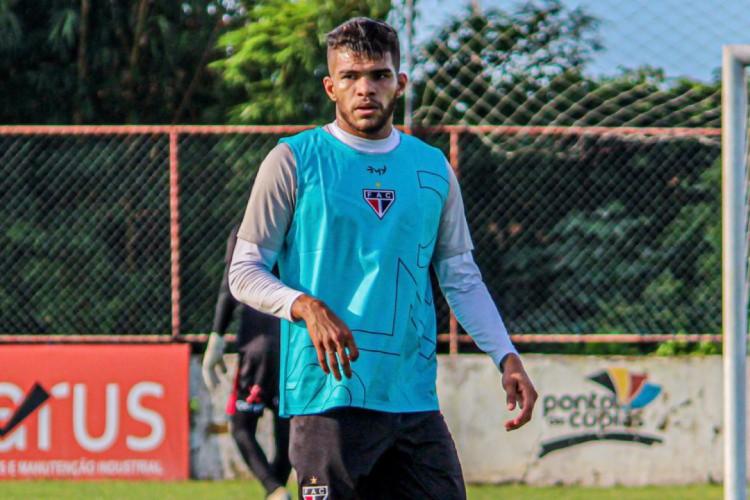 Berguinho, meio-campista do Ferroviário (Foto: Lenilson Santos/Ferroviário AC)