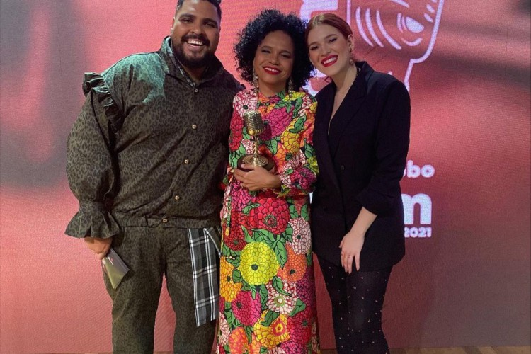 Teresa Cristina é homenageada no Prêmio Rádio Globo Quem (Foto: Reprodução/Instagram)